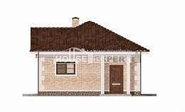 070-005-R Garage plan, House Expert