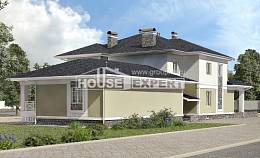 620-001-L Three Story House Plans and garage, modern Plans To Build, House Expert