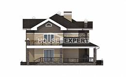 200-006-R Two Story House Plans, beautiful Construction Plans, House Expert
