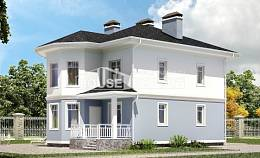 120-001-R Two Story House Plans, compact Plan Online