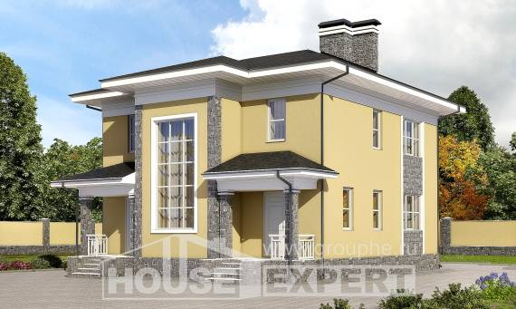 155-011-L Two Story House Plans, best house Home Plans, House Expert