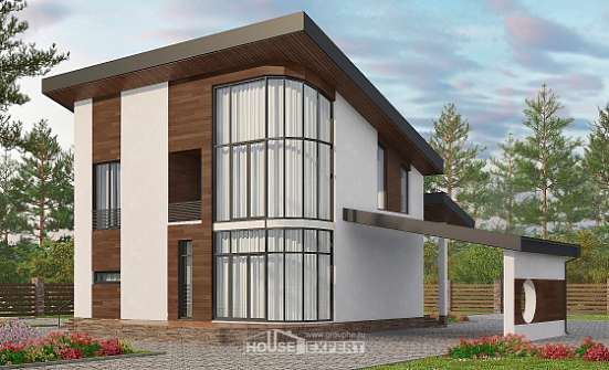 230-001-R Two Story House Plans and mansard, a simple Home Blueprints, House Expert