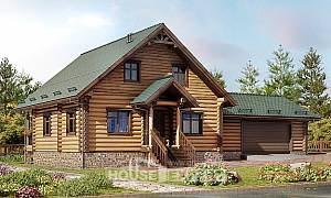 270-002-R Two Story House Plans with mansard roof with garage, beautiful House Planes
