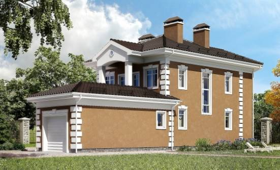 150-006-R Two Story House Plans and garage, modern House Blueprints,