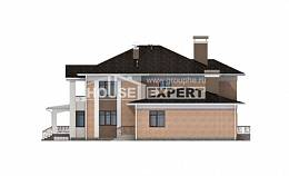 520-001-R Three Story House Plans, big Home Blueprints,