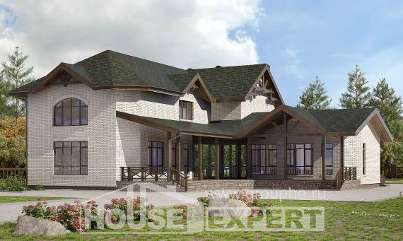 340-004-L Two Story House Plans, modern Home Plans,