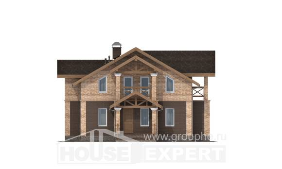 160-014-R Two Story House Plans, modern Blueprints of House Plans,