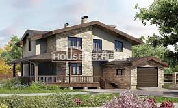 220-001-L Two Story House Plans and mansard with garage in front, best house Woodhouses Plans