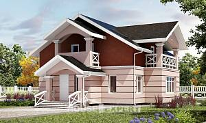 155-009-L Two Story House Plans and mansard, classic Architects House