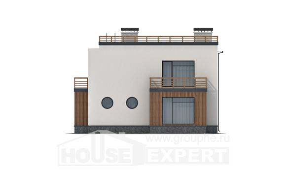 215-002-L Two Story House Plans, cozy House Building,