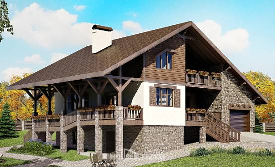 300-003-R Three Story House Plans with mansard with garage in back, beautiful Home House,