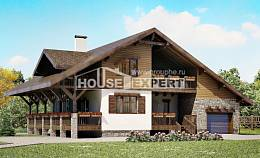 220-005-R Two Story House Plans with garage under, beautiful Home Plans,