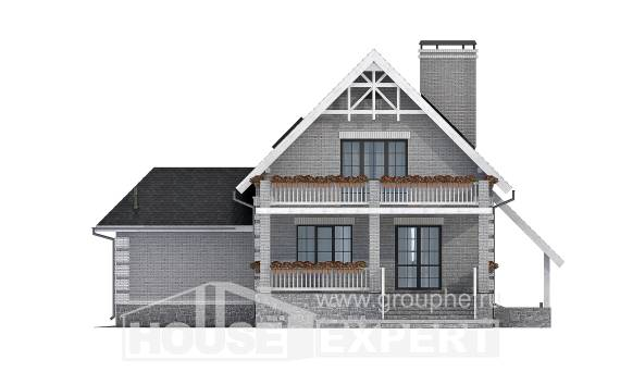 200-009-R Three Story House Plans and mansard with garage in front, best house Drawing House,