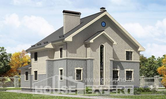 300-004-R Two Story House Plans, big House Planes,