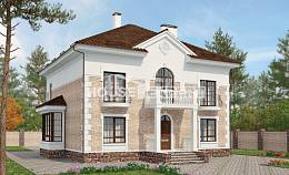 220-008-R Two Story House Plans, average Custom Home Plans Online, House Expert
