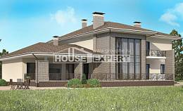500-001-R Three Story House Plans and garage, best house Design Blueprints, House Expert