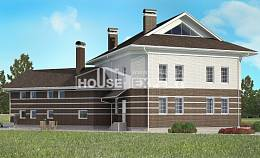 410-001-R Two Story House Plans and garage, luxury Design House,