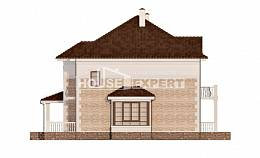 220-008-R Two Story House Plans, luxury Construction Plans, House Expert