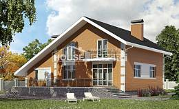 190-006-R Two Story House Plans and mansard with garage in back, beautiful Planning And Design,