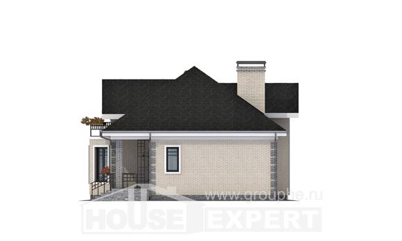 150-013-R Two Story House Plans and mansard, beautiful Cottages Plans,