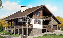 300-003-R Three Story House Plans with mansard with garage in front, beautiful House Building,