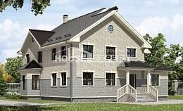 300-004-R Two Story House Plans, big Plan Online,