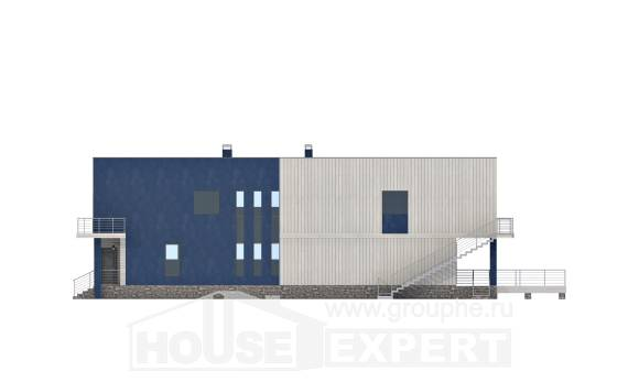 100-003-R Two Story House Plans, the budget House Blueprints