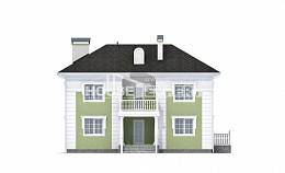 155-005-R Two Story House Plans, economical Custom Home Plans Online,
