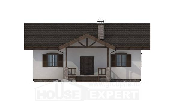 090-002-R One Story House Plans, inexpensive Home Plans,