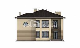300-006-R Two Story House Plans and garage, a huge Timber Frame Houses Plans,