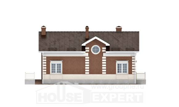 160-009-R Two Story House Plans, cozy Planning And Design