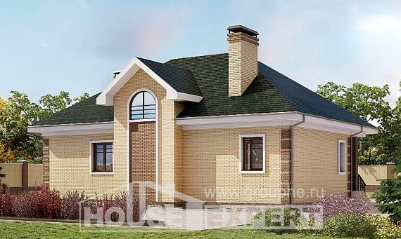 150-013-L Two Story House Plans with mansard roof, the budget Models Plans,