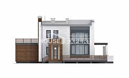 220-003-R Two Story House Plans with garage in front, beautiful House Online