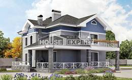 200-006-L Two Story House Plans, classic Plan Online, House Expert