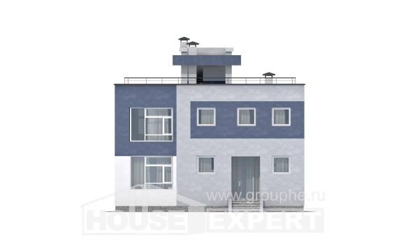 180-005-R Two Story House Plans, best house Villa Plan,