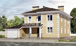 220-006-L Two Story House Plans and garage, modern Drawing House,