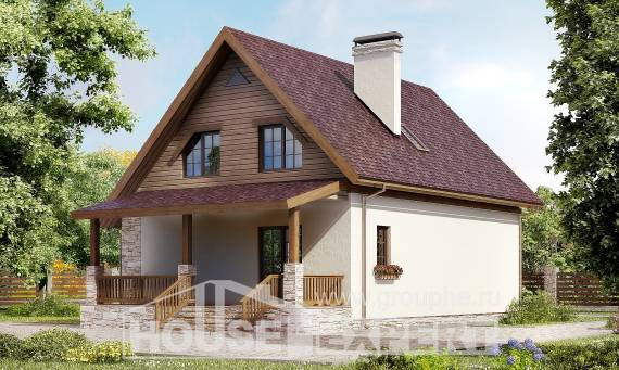 140-001-R Two Story House Plans and mansard, modest House Planes,