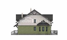 120-003-R Two Story House Plans, small Blueprints, House Expert