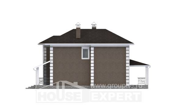 185-002-R Two Story House Plans, luxury House Building,