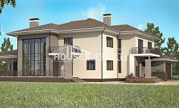 500-001-R Three Story House Plans with garage in back, modern Drawing House,