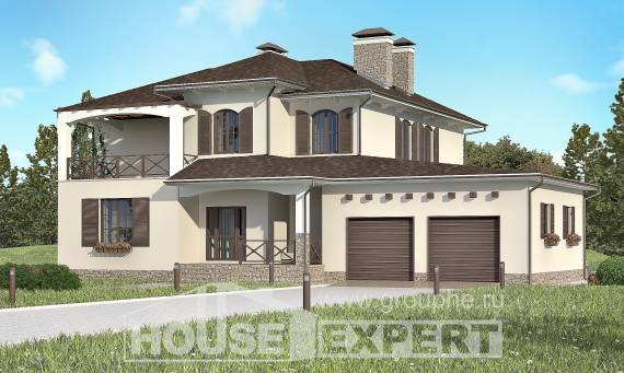 285-002-R Two Story House Plans with garage, modern Woodhouses Plans,