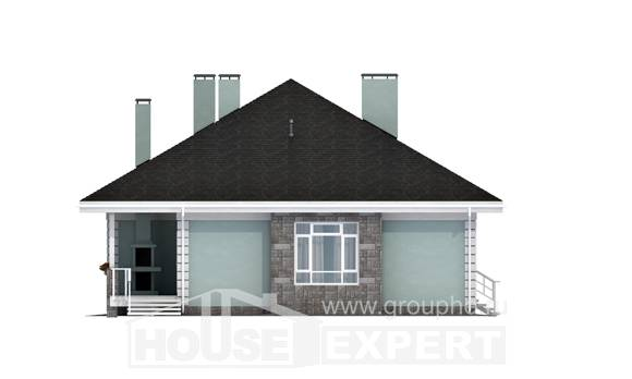 135-003-L One Story House Plans, modern Plan Online, House Expert