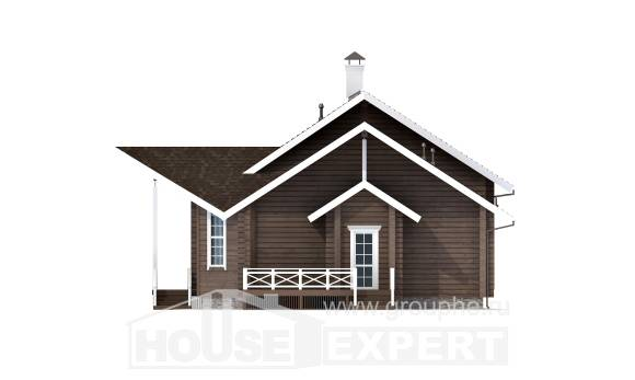210-002-L Two Story House Plans with mansard roof, spacious Architect Plans,