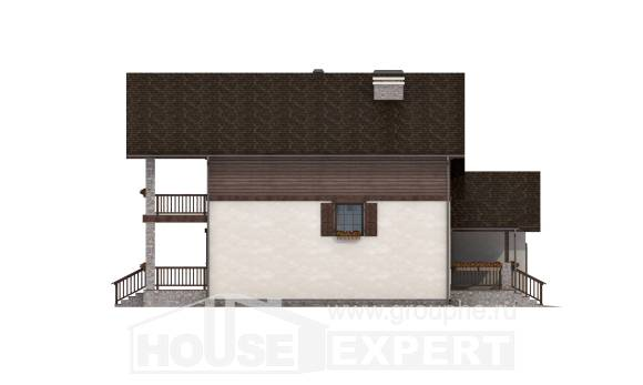 200-003-R Two Story House Plans and garage, beautiful Custom Home,