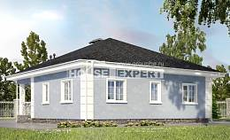 100-001-R One Story House Plans, available Design Blueprints,