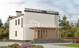 215-002-L Two Story House Plans, luxury Design House,