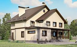 265-003-L Two Story House Plans, cozy Drawing House
