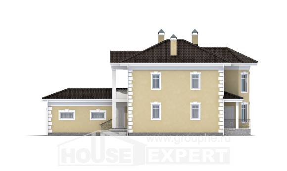 150-006-L Two Story House Plans with garage, beautiful Custom Home Plans Online,