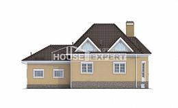 400-001-R Three Story House Plans and mansard with garage, cozy House Plan, House Expert