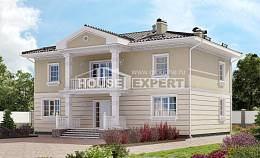 210-005-L Two Story House Plans, average Plan Online,